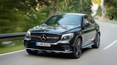Mercedes-AMG GLC 43 Coupe - front tracking