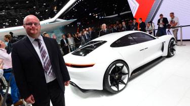 Porsche Mission E - Stuart Milne