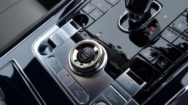 Bentley Continental GT V8 - interior detail