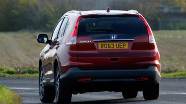 Honda CR-V rear tracking
