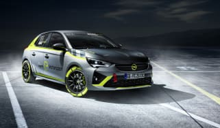 Vauxhall Corsa-e rally - front