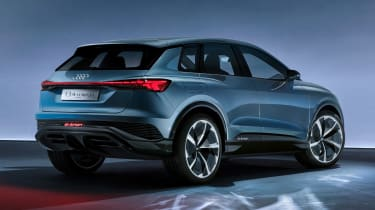 Audi Q4 e-tron concept - rear