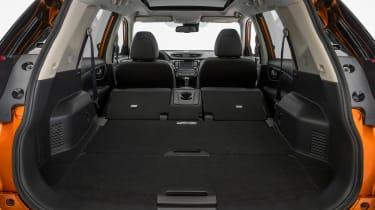 New Nissan X-Trail - boot seats down