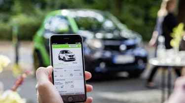 Smart ForTwo Electric Drive app