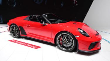 Porsche 911 Speedster - Paris front