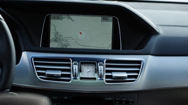 Mercedes E-Class Estate centre console