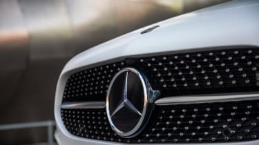 Mercedes A-Class Saloon - grille