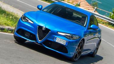 Alfa Romeo Giulia Veloce - front