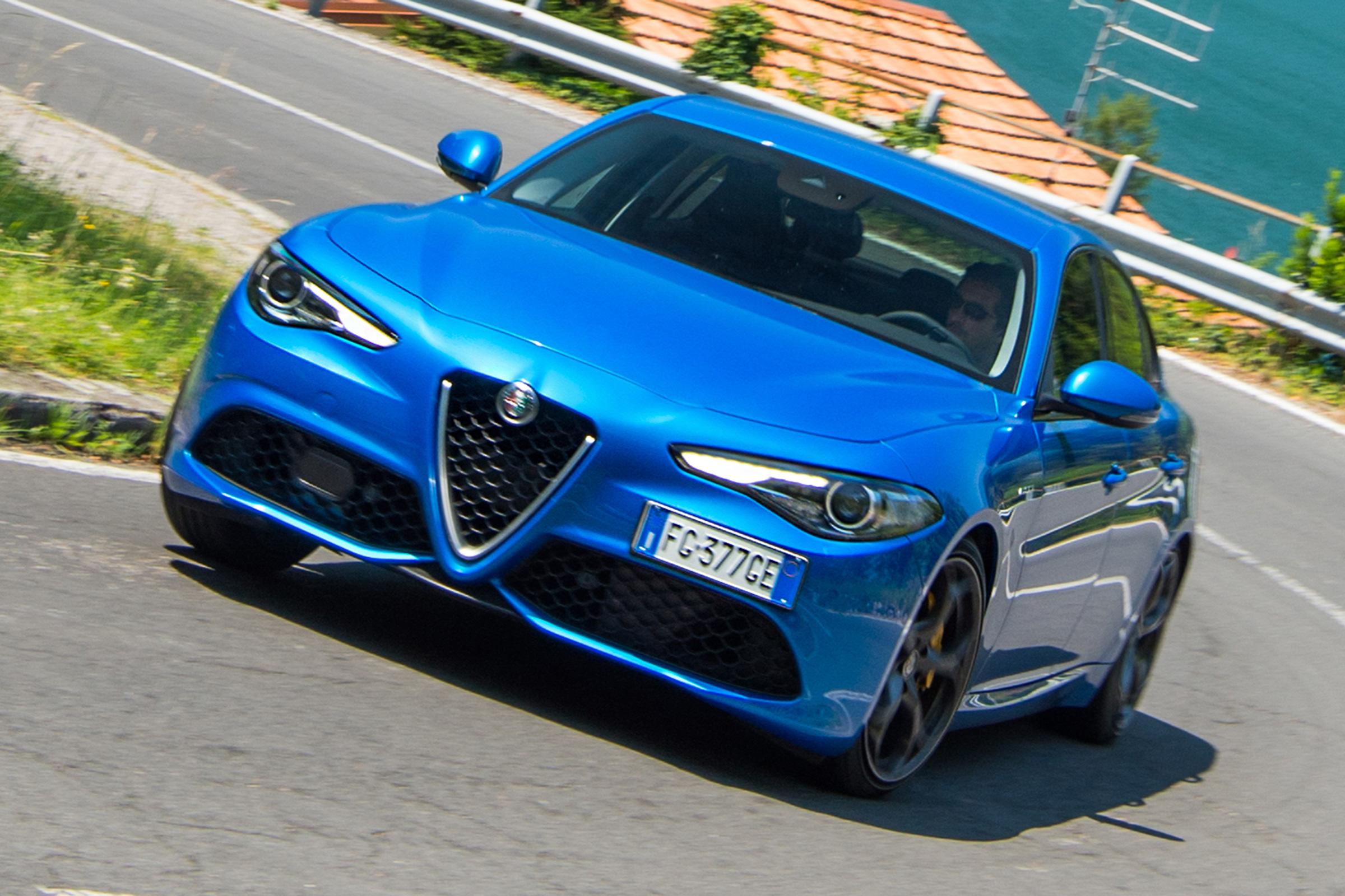 New Alfa Romeo Giulia Veloce 2017 Review Auto Express