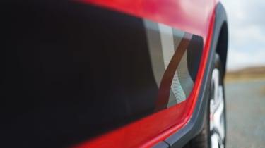 Dacia Sandero Stepway Techroad - side detail