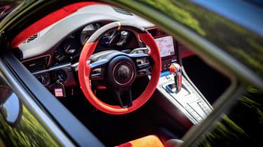 Porsche GT2 RS prototype - interior