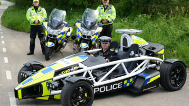 Ariel Atom PL police car with the Avon and Somerset Constabulary