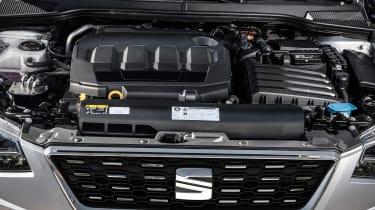 SEAT Ibiza diesel - engine