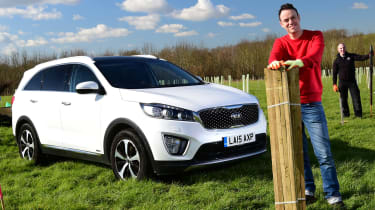 Kia Sorento long-term test - third report header