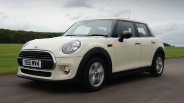 MINI One 5-door - front tracking