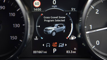 Land Rover Discovery - drive mode