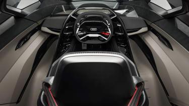 Audi PB18 e-tron concept - cockpit
