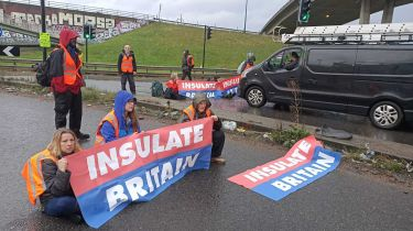 Insulate protesters