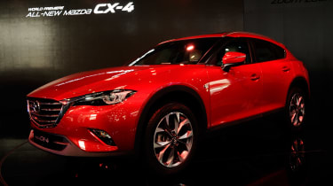 Mazda CX-4 - Beijing Motor Show - front/side
