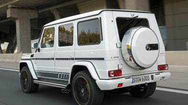 Mercedes-AMG G63 Edition 463 - rear tracking