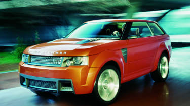 Land Rover Range Stormer - front
