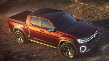 Volkswagen Atlas Tanoak concept - above