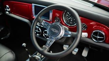 David Brown Mini Remastered - interior