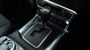 Mercedes X-Class - gear lever