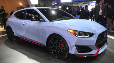 New Hyundai Veloster N - Detroit front/side