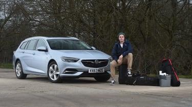 Vauxhall Insignia Sports Tourer - long termer first report header