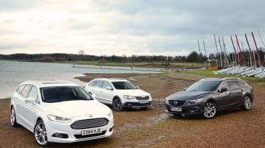 Ford Mondeo Estate vs rivals