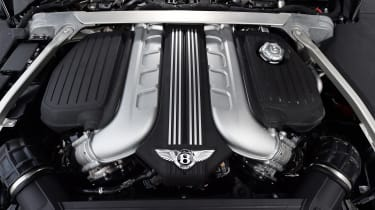 2018 Bentley Continental GT - engine