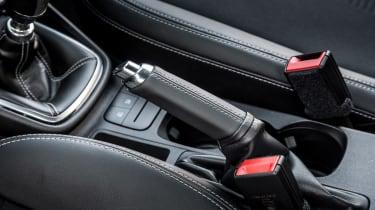 Ford Fiesta ST-Line - handbrake