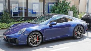 Next generation Porsche 911 static