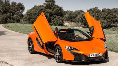 McLaren 650S Spider static