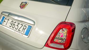 Abarth's 70th Anniversary - Abarth 595 rear light