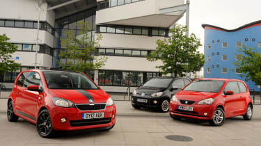 Skoda Citigo vs SEAT Mii vs VW up!