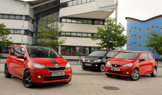Skoda Citigo vs SEAT Mii vs VW up!