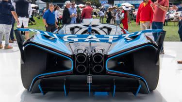 Pebble Beach Bugatti Bolide - rear