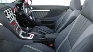 Alfa Spider JTS interior