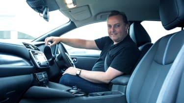 Nissan Leaf long termer first report - interior