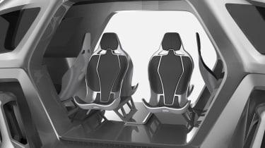 Hyundai Elevate walking car seats