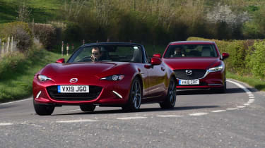 Mazda 6 long termer - final report with MX-5