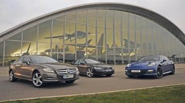 Mercedes CLS vs. rivals header