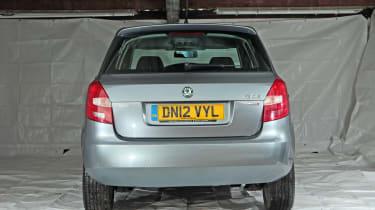 Used Skoda Fabia - full rear