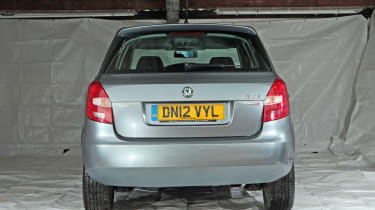 Used Skoda Fabia - full rear