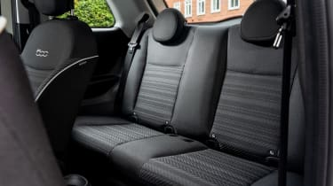 Fiat 500 Action - rear seats