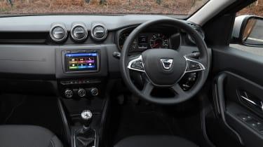 Dacia Duster - cabin