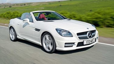 The latest Mercedes SLK is attempting to broaden its appeal.