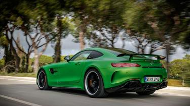 Mercedes-AMG GT R - road rear tracking